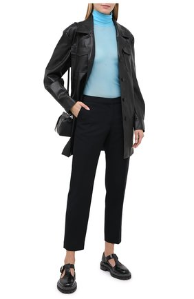 Женские брюки DRIES VAN NOTEN черного цвета, арт. 202-10967-1224 | Фото 2