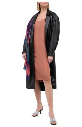 Женское шелковое платье DRIES VAN NOTEN светло-розового цвета, арт. 202-18694-1410   Фото 2