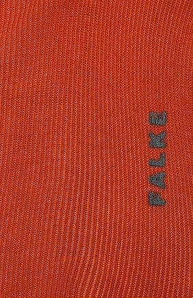 Женские носки FALKE оранжевого цвета, арт. 46362. | Фото 2