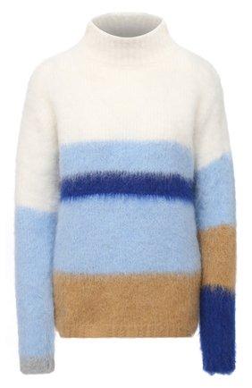 Женский свитер ERIKA CAVALLINI голубого цвета, арт. W0/P/P0WA10 | Фото 1