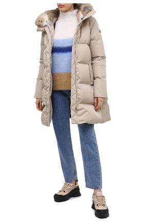 Женский свитер ERIKA CAVALLINI голубого цвета, арт. W0/P/P0WA10 | Фото 2
