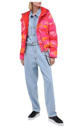 Женский пуховая куртка GOOSE TECH разноцветного цвета, арт. GST.220.200.603 | Фото 2