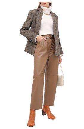 Женский кашемировый свитер NOT SHY светло-бежевого цвета, арт. 3702531C   Фото 2