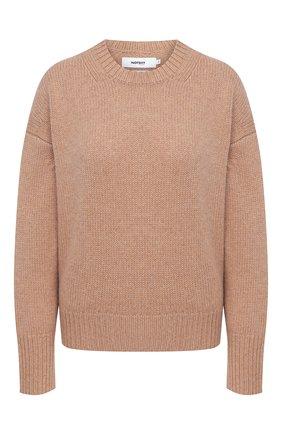 Женский кашемировый свитер NOT SHY бежевого цвета, арт. 3702530C   Фото 1