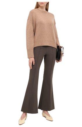 Женский кашемировый свитер NOT SHY бежевого цвета, арт. 3702530C   Фото 2