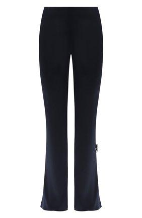 Женские брюки OFF-WHITE синего цвета, арт. 0WCA119F20FAB0024500   Фото 1