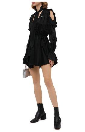 Женское платье OFF-WHITE черного цвета, арт. 0WDB254E20FAB0011001 | Фото 2