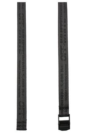 Женский текстильный ремень OFF-WHITE черного цвета, арт. 0WRB011E20FAB0011010 | Фото 2