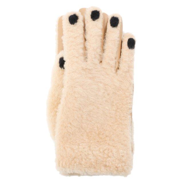 Комбинированные перчатки Marni