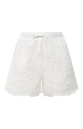 Женские хлопковые шорты EVA B.BITZER белого цвета, арт. 10312245 | Фото 1