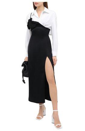 Женское платье ACT N1 черно-белого цвета, арт. PFD2003 | Фото 2