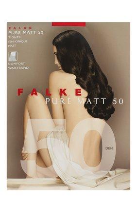 Женские колготки pure matt 50 FALKE красного цвета, арт. 40150 | Фото 1