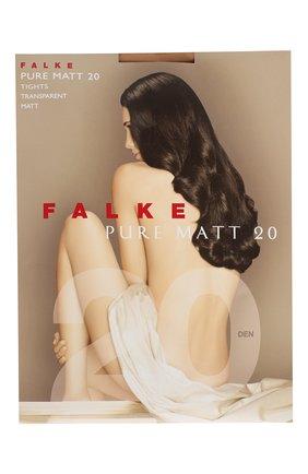 Женские колготки pure matt 20 FALKE светло-бежевого цвета, арт. 40120 | Фото 1