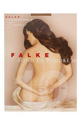 Женские колготки fond de poudre 10 FALKE бежевого цвета, арт. 40024 | Фото 1