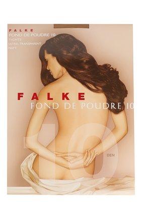 Женские колготки fond de poudre 10 FALKE светло-бежевого цвета, арт. 40024 | Фото 1