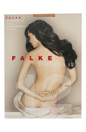 Женские колготки shelina 12 FALKE светло-бежевого цвета, арт. 40027 | Фото 1
