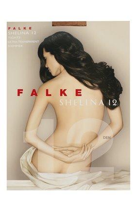 Женские колготки shelina 12 FALKE бежевого цвета, арт. 40027 | Фото 1