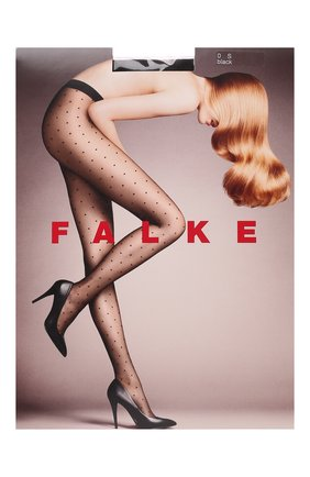 Женские колготки FALKE черного цвета, арт. 40685 | Фото 1