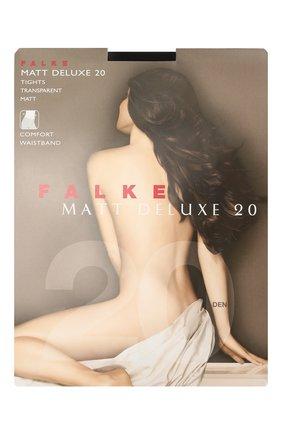 Женские колготки matt deluxe FALKE черного цвета, арт. 40620 | Фото 1