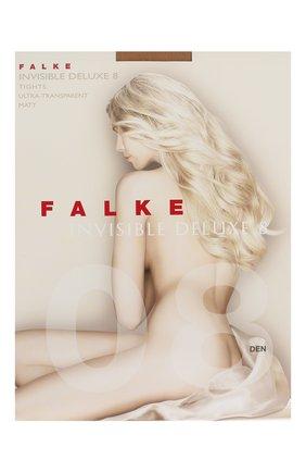 Женские колготки invisible deluxe 8 FALKE бежевого цвета, арт. 40610 | Фото 1
