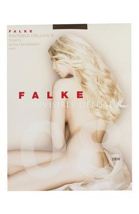 Женские колготки invisible deluxe 8 FALKE коричневого цвета, арт. 40610 | Фото 1