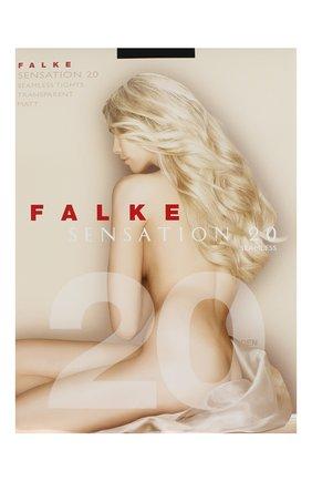 Женские колготки sensation 20 FALKE черного цвета, арт. 40660   Фото 1