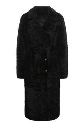 Женская шуба из овчины ANNE VEST черного цвета, арт. AW20/01/202/01/CL0E | Фото 1