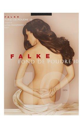 Женские колготки fond de poudre 10 FALKE темно-серого цвета, арт. 40024 | Фото 1