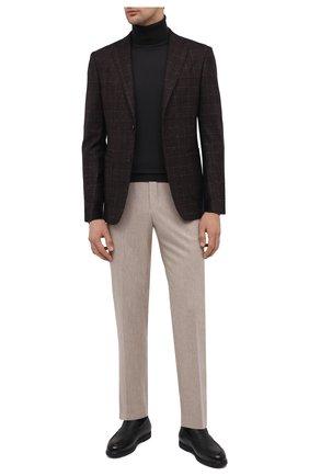 Мужские кожаные лоферы arturo DOUCAL'S черного цвета, арт. DU2653ED0-UM019NN00 | Фото 2