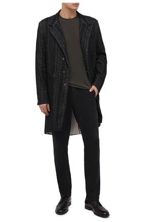 Мужской кожаные дерби PANTANETTI темно-коричневого цвета, арт. 13979C | Фото 2