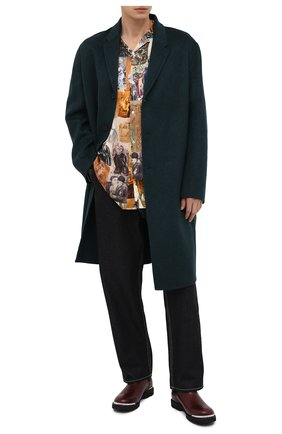 Мужская рубашка из вискозы Y/PROJECT разноцветного цвета, арт. SHIRT36-S19 F206 | Фото 2