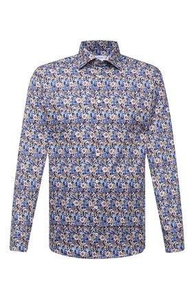 Мужская хлопковая рубашка ETON темно-синего цвета, арт. 1000 01277 | Фото 1