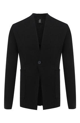 Мужской хлопковый пиджак THOM KROM черного цвета, арт. M SJ 439 | Фото 1