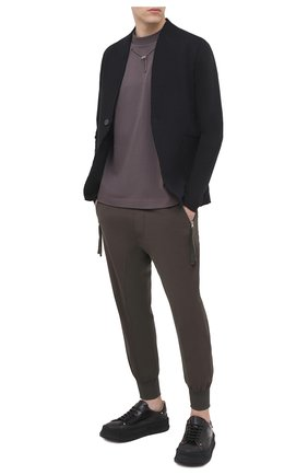 Мужской хлопковый пиджак THOM KROM черного цвета, арт. M SJ 439 | Фото 2