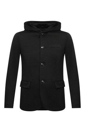 Мужской пиджак EMPORIO ARMANI черного цвета, арт. 6H1GN6/1JEVZ | Фото 1