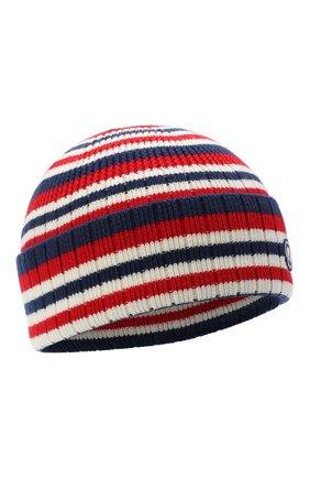 Мужская шерстяная шапка GUCCI синего цвета, арт. 624894/4G332 | Фото 1
