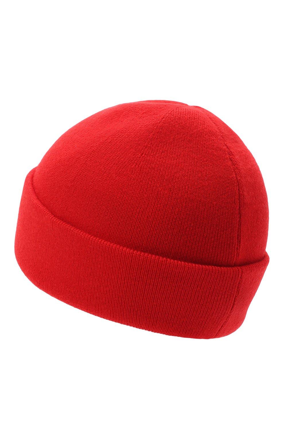 Мужская шерстяная шапка GUCCI красного цвета, арт. 612118/4G332 | Фото 2