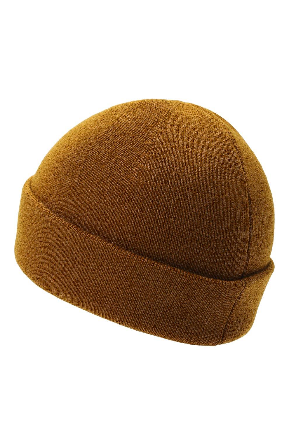 Мужская шерстяная шапка GUCCI хаки цвета, арт. 612118/4G332 | Фото 2