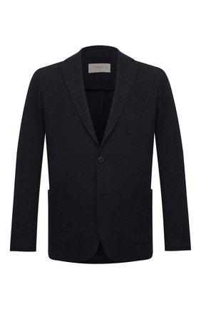 Мужской пиджак из хлопка и шерсти ALTEA темно-синего цвета, арт. 2062319 | Фото 1