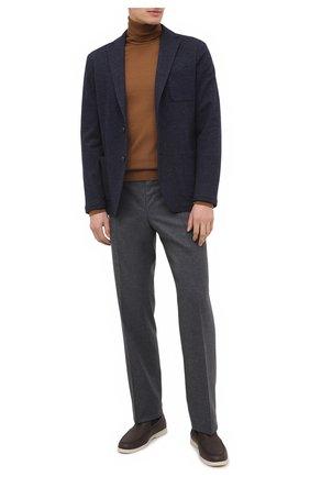 Мужской пиджак из хлопка и шерсти ALTEA темно-синего цвета, арт. 2062319 | Фото 2