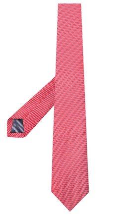 Мужской шелковый галстук ETON красного цвета, арт. A000 32400 | Фото 2