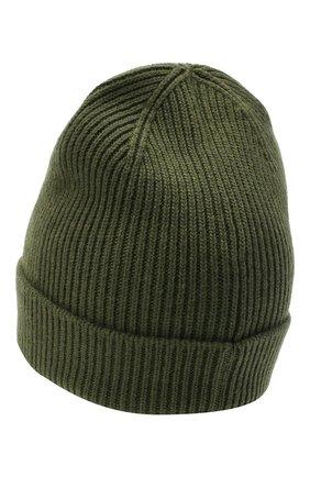 Мужская шапка из шерсти и кашемира GIVENCHY хаки цвета, арт. GVCAP1/U1845 | Фото 2