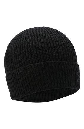 Мужская шерстяная шапка GIVENCHY черного цвета, арт. GVCAPP/U1843 | Фото 1