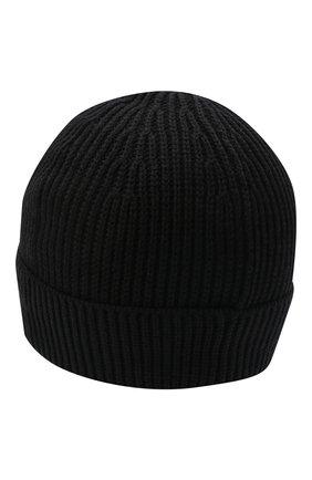 Мужская шерстяная шапка GIVENCHY черного цвета, арт. GVCAPP/U1843 | Фото 2