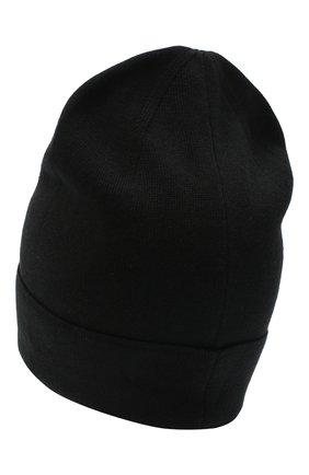 Мужская шапка из хлопка и кашемира GIVENCHY черного цвета, арт. GVCAPP/U1850 | Фото 2
