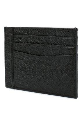 Мужской кожаный футляр для кредитных карт BOSS черного цвета, арт. 50430656 | Фото 2