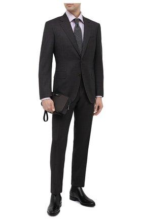 Мужская борсетка stepan SERAPIAN темно-коричневого цвета, арт. SSTEPMML7081M23A | Фото 2 (Материал: Экокожа)