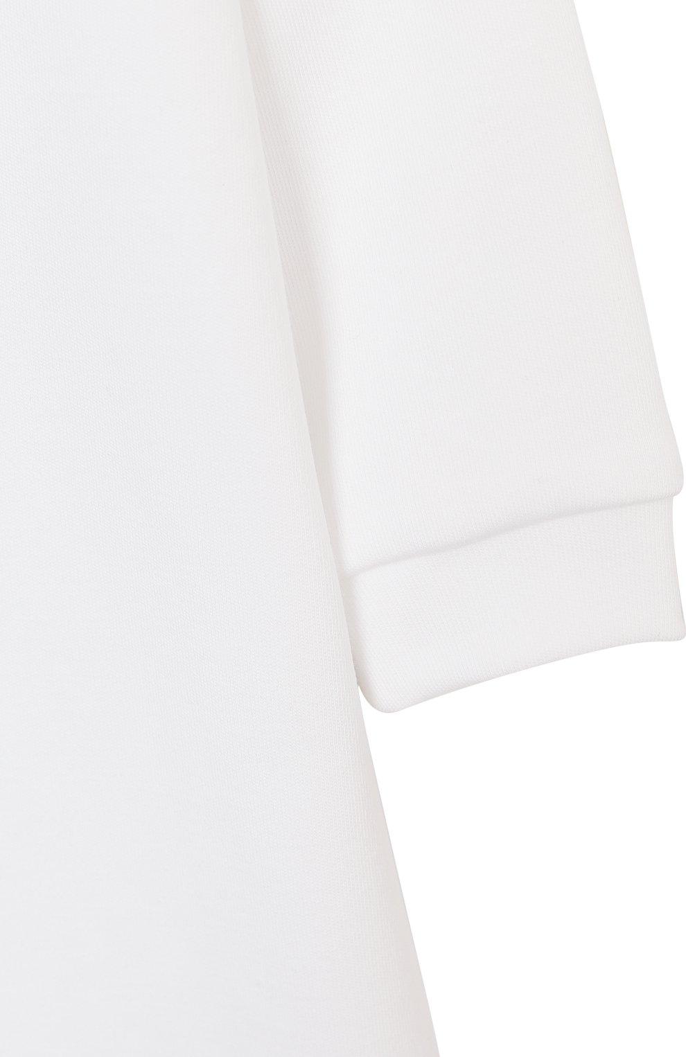 Детский комбинезон с игрушкой GIVENCHY белого цвета, арт. H9K029 | Фото 4