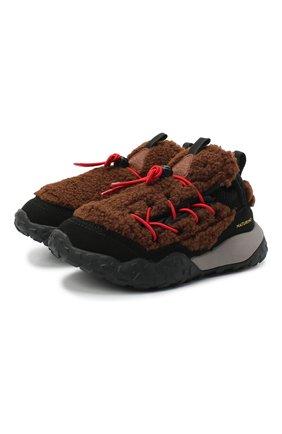 Детские кроссовки NATURINO коричневого цвета, арт. 0012015498/02/27-32   Фото 1