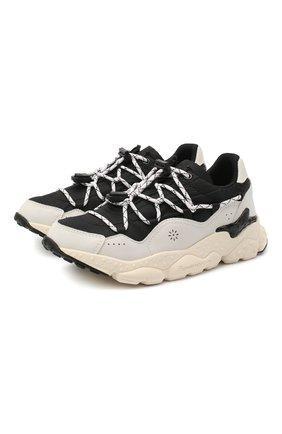 Детские кроссовки NATURINO черно-белого цвета, арт. 0012015499/02/33-38   Фото 1